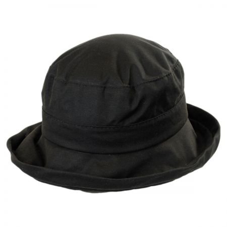 Woolrich Waxed Cotton Roller Hat