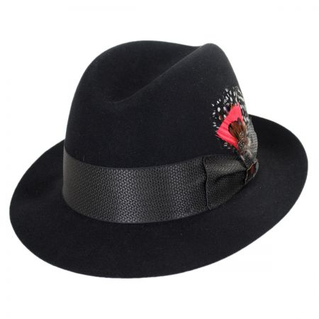 Biltmore Metropolitan Fur Felt Fedora Hat