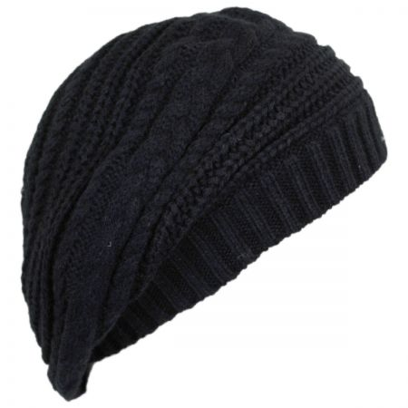 Scala Slouchy Knit Beret