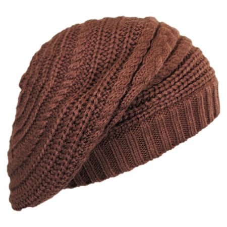 Slouchy Knit Beret alternate view 4
