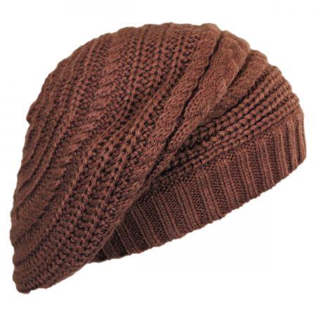Scala Slouchy Knit Beret