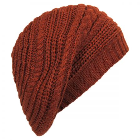 Slouchy Knit Beret alternate view 6
