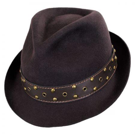 Carlos Santana Roadster Wool Felt Fedora Hat