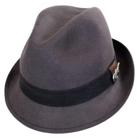 Carlos Santana Harlem Wool Felt Fedora Hat