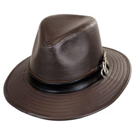 Carlos Santana Java Fedora Hat