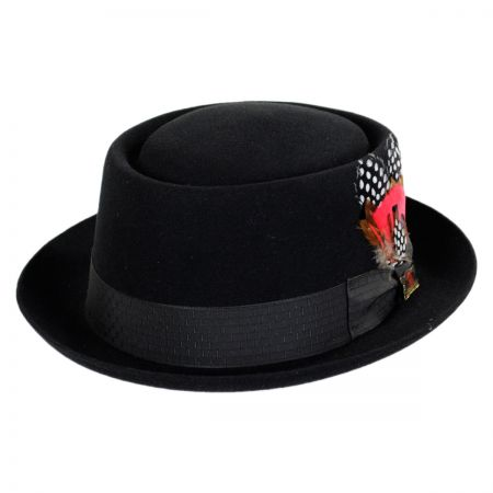 Biltmore Columbus Fur Felt Pork Pie Hat