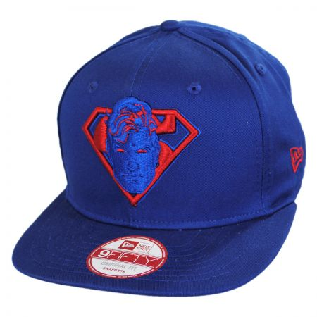 New Era DC Comics Superman 9Fifty Cabesa Snapback Baseball Cap