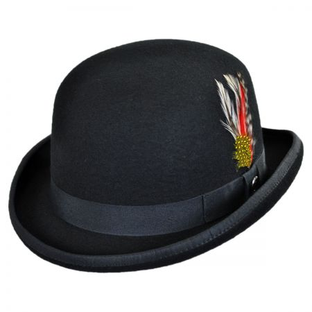 English Wool Felt Bowler Hat