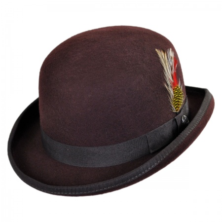 Jaxon Hats English Wool Felt Bowler Hat
