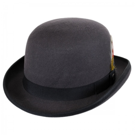 English Wool Felt Bowler Hat alternate view 9
