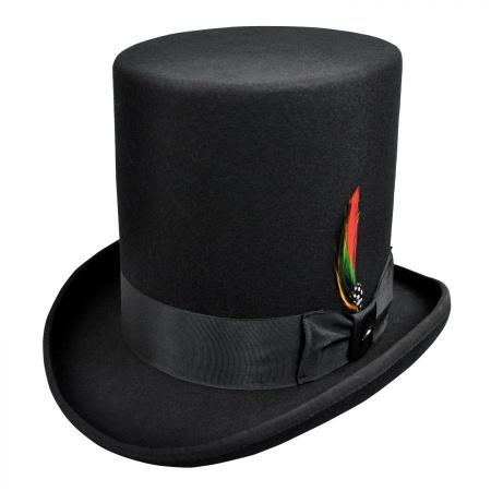 B2B Jaxon Stovepipe Wool Felt Top Hat