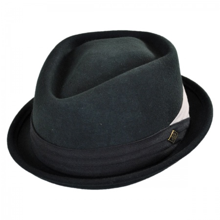 Goorin Bros Curly Diamond Crown Pork Pie Hat