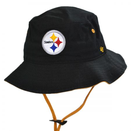 47 Brand Pittsburgh Steelers NFL Kirby Bucket Hat