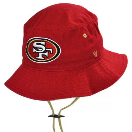 47 Brand San Francisco 49ers NFL Kirby Bucket Hat