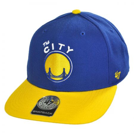 47 Brand Golden State Warriors NBA Sure Shot Snapback Baseball Cap