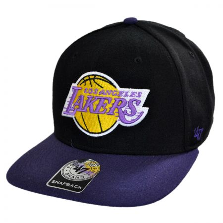 47 Brand Los Angeles Lakers NBA Sure Shot Snapback Baseball Cap