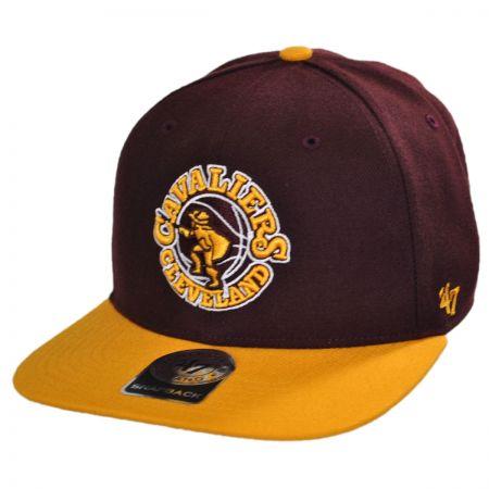 47 Brand Cleveland Cavaliers NBA Sure Shot Snapback Baseball Cap