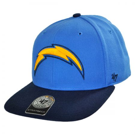 47 Brand San Diego Chargers NFL Sure Shot Strapback Baseball Cap