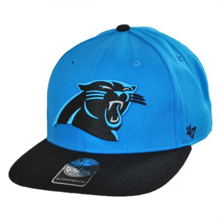 47 Brand Carolina Panthers NFL Sure Shot Strapback Baseball Cap