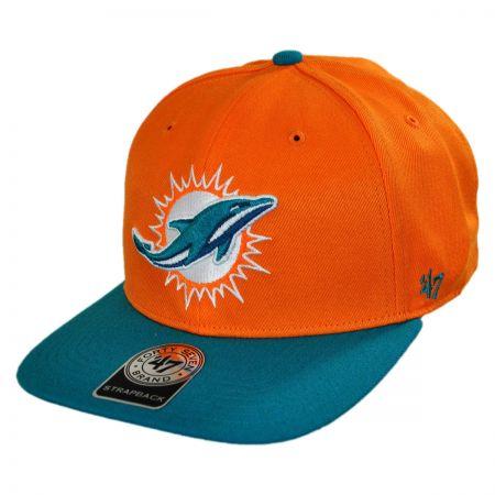 47 Brand Miami Dolphins NFL Sure Shot Strapback Baseball Cap