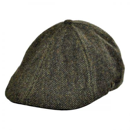 EK Collection by New Era Camo Tweed Wool Blend Duckbill Ivy Cap