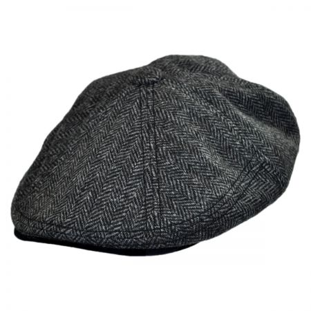 EK Collection by New Era Camo Tweed Driver Newsboy Cap