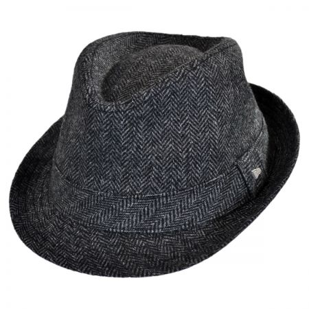 EK Collection by New Era Camo Tweed Fedora Hat