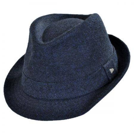EK Collection by New Era Camo Tweed Wool Felt Fedora Hat
