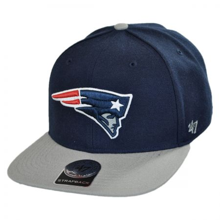 47 Brand New England Patriots NFL Sure Shot Strapback Baseball Cap