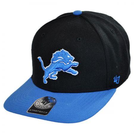 47 Brand Detroit Lions  NFL Sure Shot Strapback Baseball Cap
