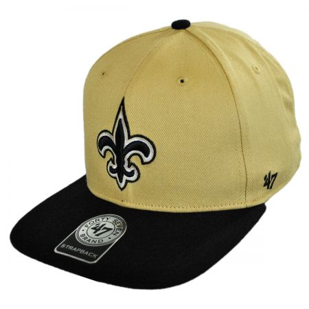 47 Brand New Orleans Saints NFL Sure Shot Strapback Baseball Cap