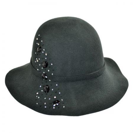 Callanan Hats Gem Spray Floppy Cloche Hat