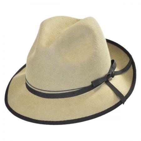 Brooklyn Hat Co Open Road Wool Felt Fedora Hat