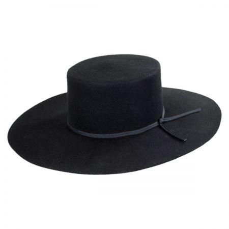 Brixton Hats Buckley Wool Felt Wide Brim Hat