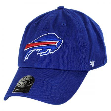 47 Brand Buffalo Bills NFL Clean Up Strapback Baseball Cap Dad Hat