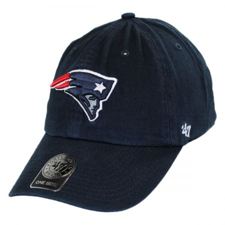 47 Brand New England Patriots NFL Clean Up Strapback Baseball Cap