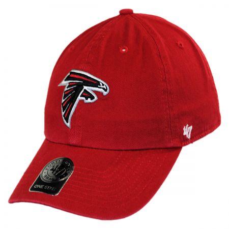 47 Brand Atlanta Falcons NFL Clean Up Strapback Baseball Cap Dad Hat