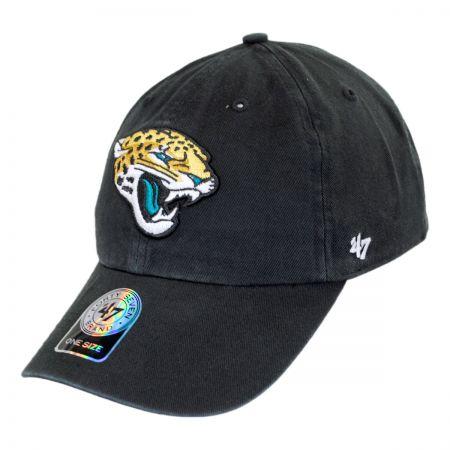 47 Brand Jacksonville Jaguars NFL Clean Up Strapback Baseball Cap Dad Hat