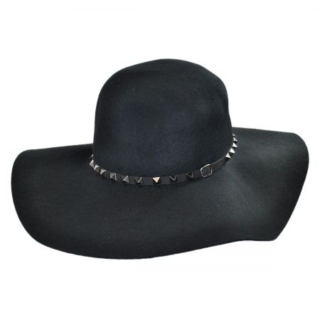 Brooklyn Hat Co Billy Jack Studded Wool Felt Floppy Hat