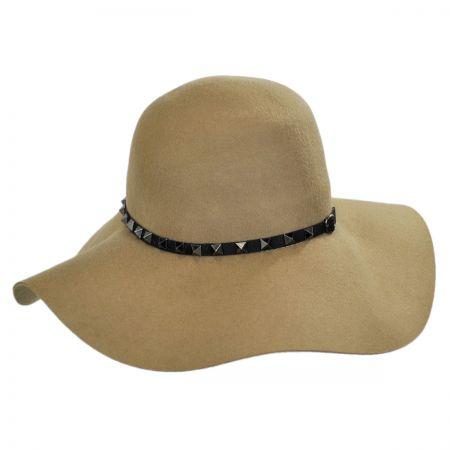Brooklyn Hat Co Billy Jack Studded Wool Felt Floppy Hat