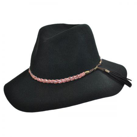 Brooklyn Hat Co Gemma Wool Felt Rancher Floppy Fedora Hat