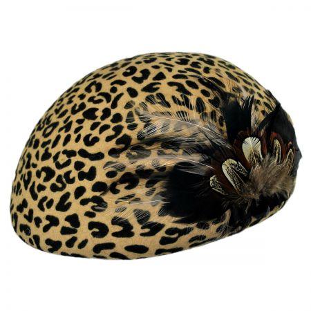 San Diego Hat Company Feathers Felt Beret