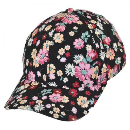 San Diego Hat Company Floral Baseball Cap - Child