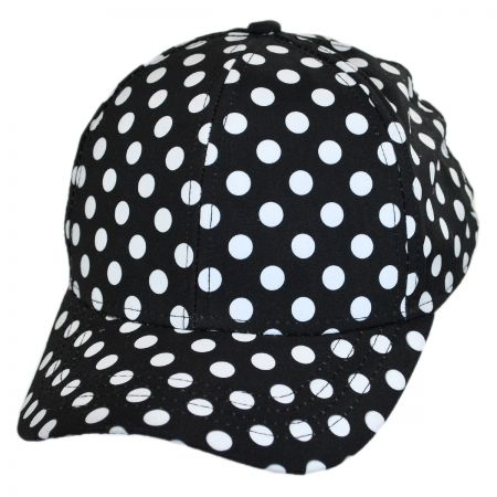 San Diego Hat Company Polka Dot Baseball Cap - Child