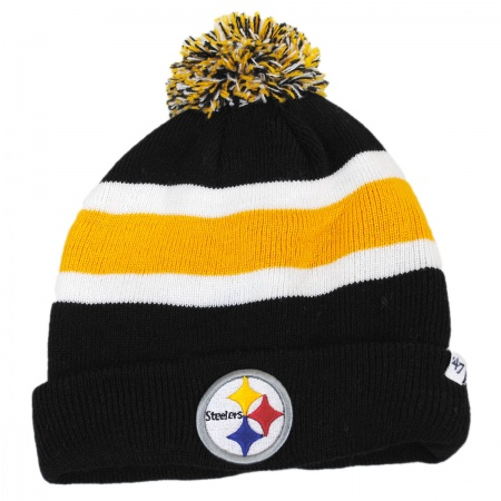 47 Brand Pittsburgh Steelers NFL Breakaway Knit Beanie Hat