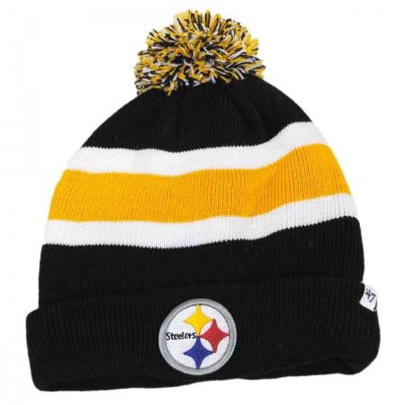 47 Brand Pittsburgh Steelers NFL Breakaway Knit Beanie Hat