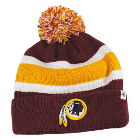 47 Brand Washington Redskins NFL Breakaway Knit Beanie Hat