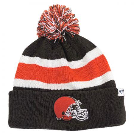 47 Brand Cleveland Browns NFL Breakaway Knit Beanie Hat