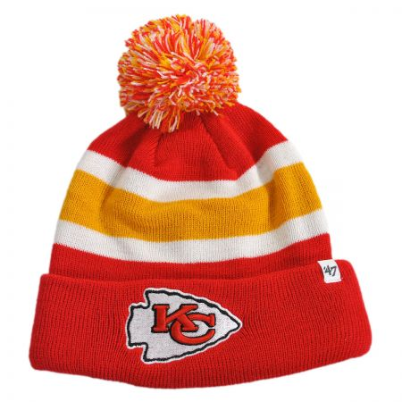47 Brand Kansas City Chiefs NFL Breakaway Knit Beanie Hat