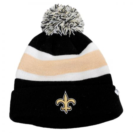 47 Brand New Orleans Saints NFL Breakaway Knit Beanie Hat